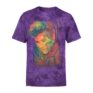 Elvis King of Hearts T-shirt
