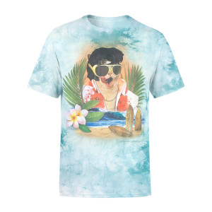 Aloha Elvis Cat T-shirt