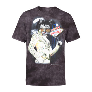 Vegas Meowvis Pawsley T-shirt