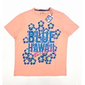 Pink Elvis Presley Blue Hawaii T-Shirt