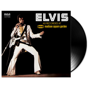 Elvis As Recorded At Madison Square Garden Vinyl 2 LP