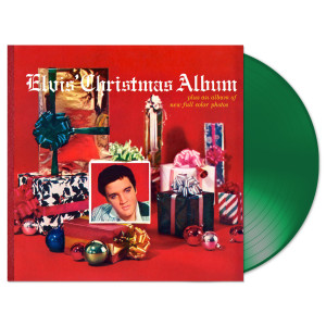 Elvis' Christmas Album (180 Gram Audiophile Translucent Green Vinyl/Limited Edition/Gatefold Cover)