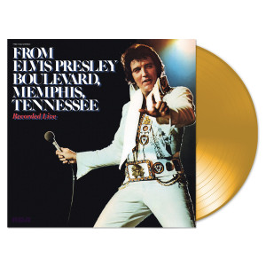 40th Anniversary Edition From Elvis Presley Boulevard, Memphis, Tennessee Translucent Gold Vinyl