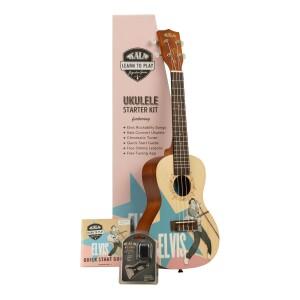 Elvis Rockabilly Concert Ukulele Starter Kit