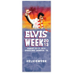Elvis Week 2013 Limited Edition Aloha Banner