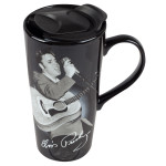 Elvis - Has left the Building 20 oz. Ceramic Travel Mug