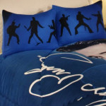 Dancing Elvis Queen Size Comforter Set