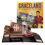 Elvis - Graceland Pop-Up Tour Book