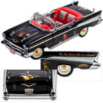Elvis '57 Chevy 50th Anniversary 1:24 Die Cast