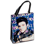 Elvis Pastel Heart Bag