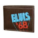 Elvis '68 Comeback Special Bifold Leather Wallet