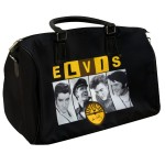 Elvis Sun Records Black Overnight Bag