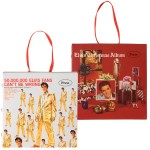 Elvis Musical Albums Ornaments (Set of 2)