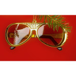 Elvis 70's Sunglasses Ornament