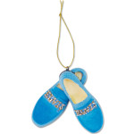 Elvis Blue Suede Shoes Ornament