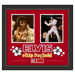 Elvis Presley 'Aloha From Hawaii' Framed Collage