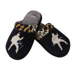 Elvis Leopard Slippers