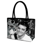 Elvis Smiling Tote Bag