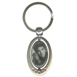 Elvis Portrait Spinner Key Chain