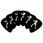 Elvis White Jumpsuit Guitar Picks - 6 Pack