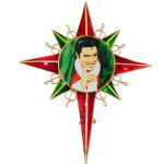 Elvis Joe Petruccio Santa Tree Topper