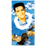 Elvis Blue Hawaii Beach Towel