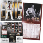 Elvis 2012 16 Month Mini Calendar