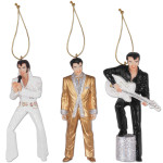 Elvis Ornaments Set