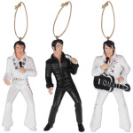 Elvis Holiday Ornaments Set
