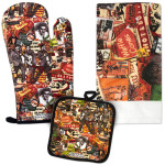 Elvis Collage 3 Piece Kitchen Set