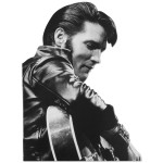 Elvis Presley Comeback Tour Blank Greeting Card