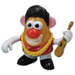 Mr. Potato Head Blue Hawaii Tribute to Elvis