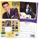Elvis 2013 16 Month Mini Calendar