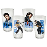 Elvis 35th Anniversary Memories 4 pc. Glass Set