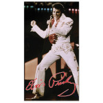 Elvis Aloha from Hawaii Beach Towel