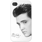 Elvis Black and White Stare iPhone 4 Case