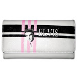 Elvis Striped King Wallet