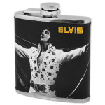 Elvis Jumpsuit Praise 6 oz. Flask