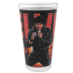 Elvis Collage Lights Pint Glass