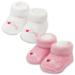 I Heart Elvis Booties - 2 Pack