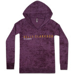 Kelly Clarkson Album Text Burnout Hoodie