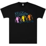 Kelly Clarkson 3 Faces T-Shirt