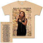 Kelly Clarkson Patchwork Tour T-Shirt