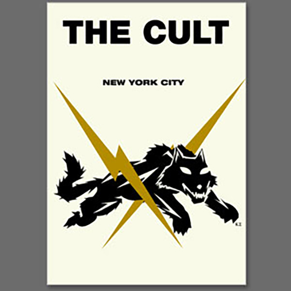 The Cult New York City DVD