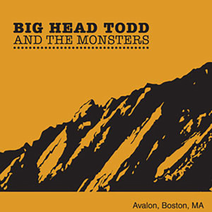 Big Head Todd & The Monsters Live at Avalon, Boston, MA 1/29/06