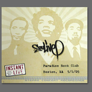 Soulive - Live at The Paradise Rock Club Boston, MA 5/6/05