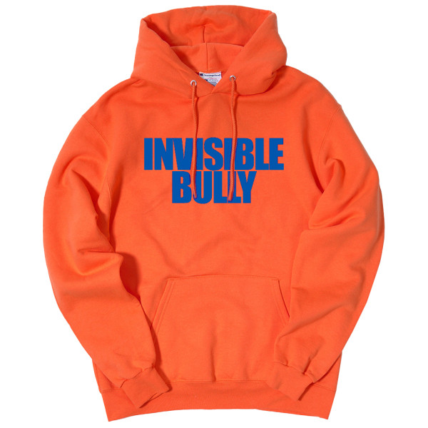 invisible bully logo hooded sweatshirt shop the musictoday