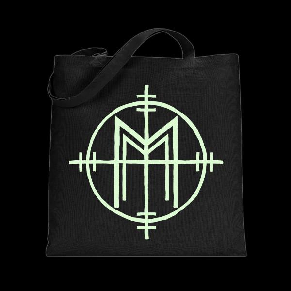 Marilyn Manson Crosshair Tote Bag Shop The Musictoday Merchandise