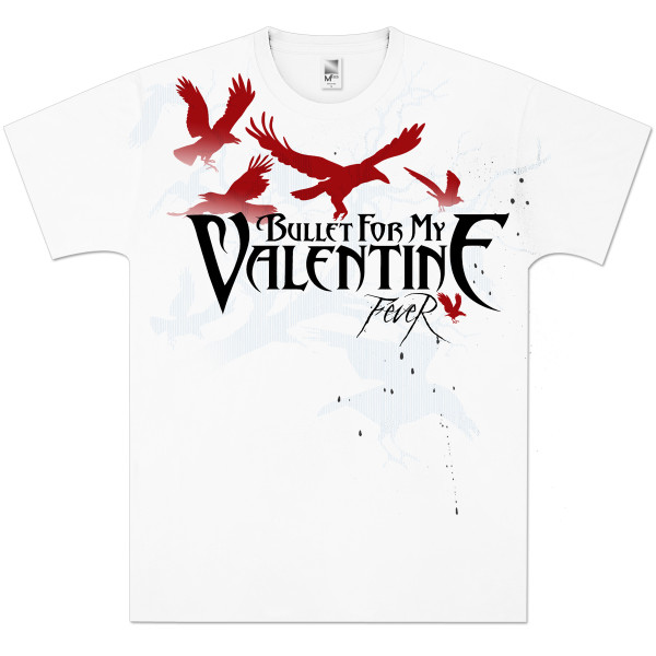 Bullet For My Valentine Fever T Shirt Shop The Musictoday