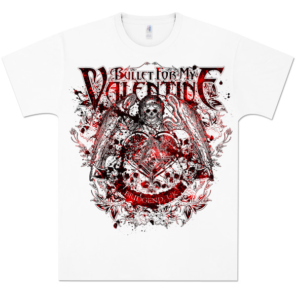 Bullet For My Valentine Death Angel T Shirt Shop The Musictoday